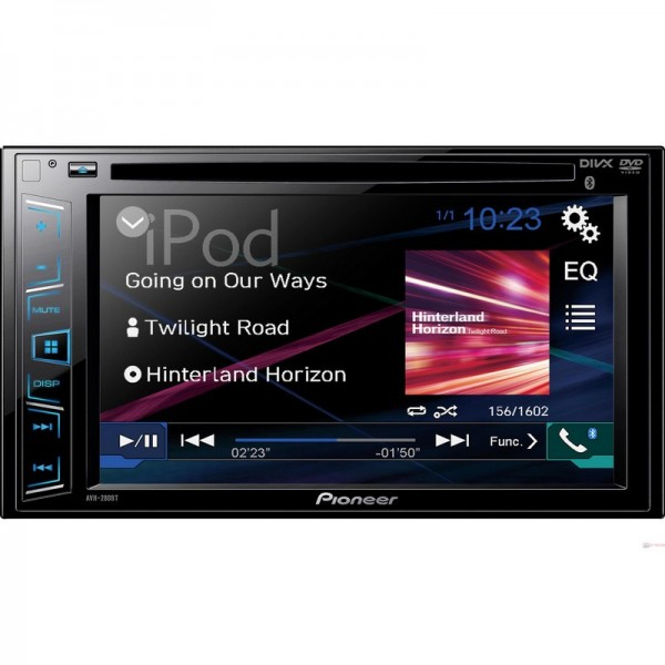 "Autorradio Pioneer AVH-280BT / Pantalla táctil 6.2"" / Bluetooth / CD/ DVD / USB"