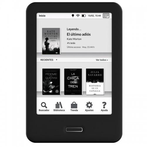 eBook BQ Cervantes 3 / 8GB / Táctil con WiFi / Luz regulable/ Negro