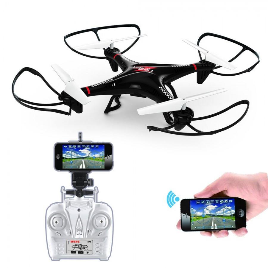 Dron LH-X10WF 2.4G Control Remoto Wifi Control RC Quadcopter Drone con FPV Cámara