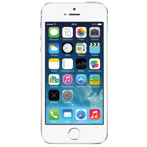 Móvil Apple iPhone 5S Plata de 16GB