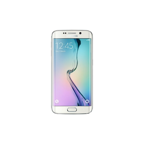 "Móvil Samsung Galaxy S6 edge, 64GB, 5.1"" pulgadas, red 4G y color Blanco Perla"