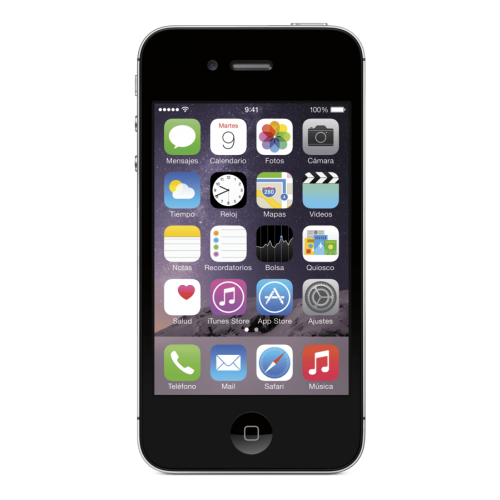Móvil iPhone 4S Negro con 8GB de memoria