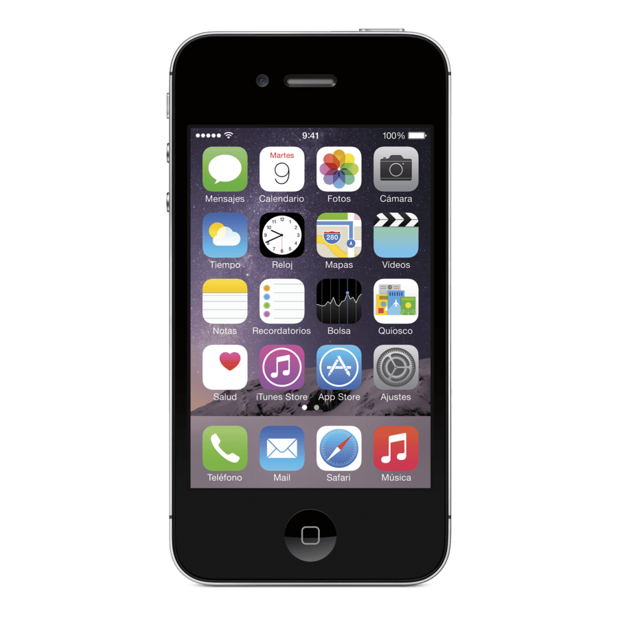 Móvil iPhone 4S Negro con 8GB de memoria
