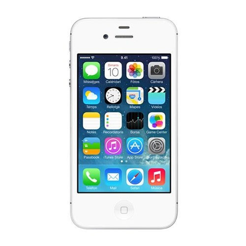 Móvil iPhone 4S Blanco con 8GB de memoria