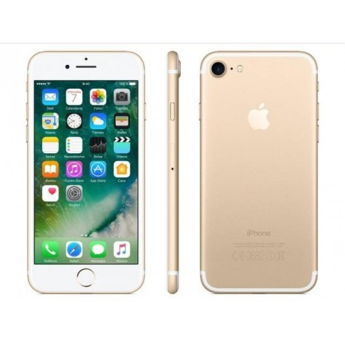 "Movil Apple iPhone 7 de 128GB pantalla 4.7"" con cámara de 12Mpx y  color Oro MN942B"