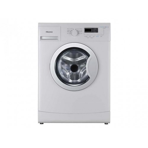 Lavadora Hisense WFEA6010 Carga Frontal de capacidad 6kg, 1000rpm, 8 programas, display digital, A++ y color Blanco