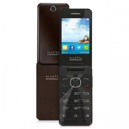 "Móvil Alcatel Onetouch 1035D Tapa, pantalla 1,8"", Negro Chocolate"
