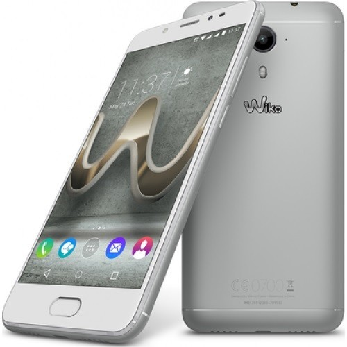"Móvil Wiko U FEEL Prime 5"", Android 4G, Full HD, Almacenamiento 32GB, 4GB de RAM, Octa-Core 1.4 GHz, Dual Sim y color Silver"