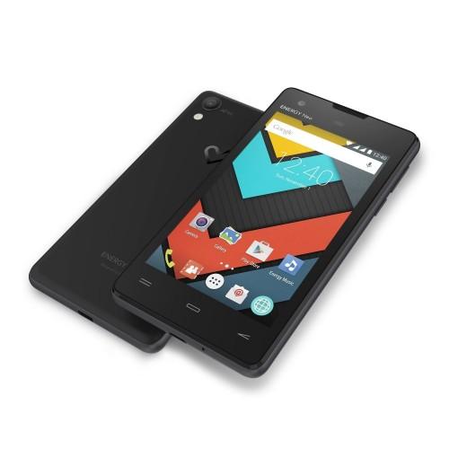 """Móvil Energy Neo Lite 4"""", RAM de 1GB, Almacenamiento de 4GB, Android 5.1, Dual SIM, Cámara 5Mpx y color Negro"""
