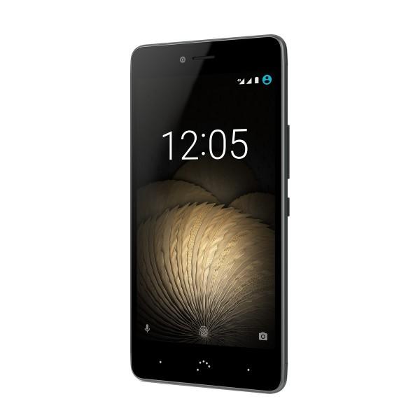 """Móvil BQ U Plus 5"""", Smartphone 4G, 2GB de RAM, Almacenamiento 16GB, Octa Core, Dual SIM y color Negro"""