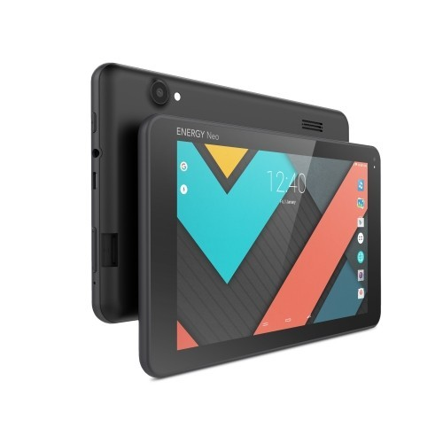 """Tablet Energy Neo 3 Lite 7"""", 512MB de RAM, Almacenamiento de 8GB,  Quad Core y color Negro"""