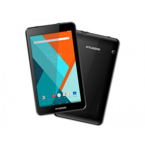 "Tablet Hyunday Fenix 7"", 1GB de RAM, Almacenamiento 8GB, Android y color Negro"
