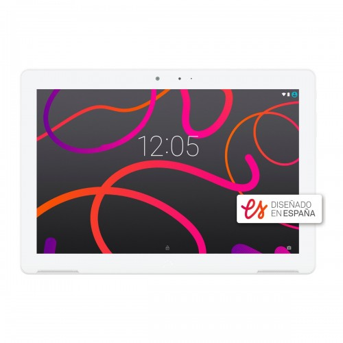 "Tablet BQ Aquaris M10 10.1"", Almacenamiento de 16GB, 2GB de RAM, Cámara de 5MP, HD, WiFi y color Blanco"