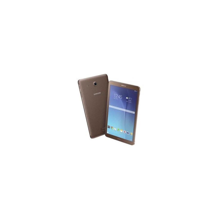 """Tablet Samsung TAB E 9.6"""", RAM de 1.5 GB, Almacenamiento de 8GB, Cámara 5Mpx y color Dorado"""