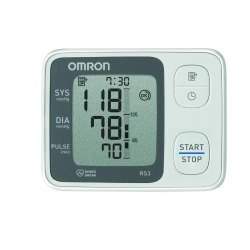 Tensiómetro Omron RS2 Muñeca Monitor de presión arterial