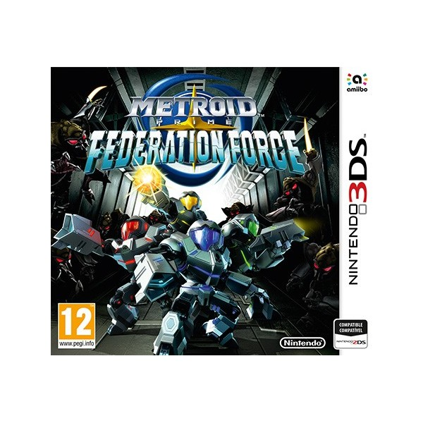 Juegos 3DS Metroid Prime: Federation Force