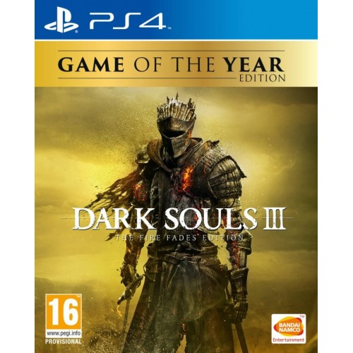 Juego PS4 Dark Sould III: The Fire Fades Edition