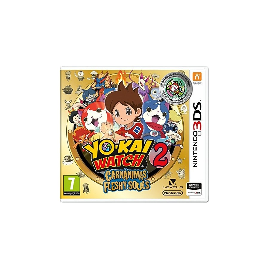Juego Nintendo 3ds Yokay Watch 2 Fantasqueleto