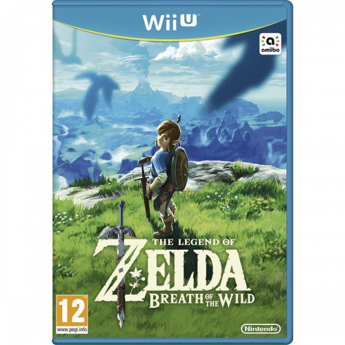 Juego Nintendo Wii U The Legend  of Zelda Breath of Wild