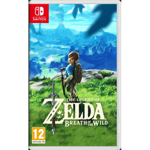 Juego Nintendo Switch Zelda Breaht of the Wild