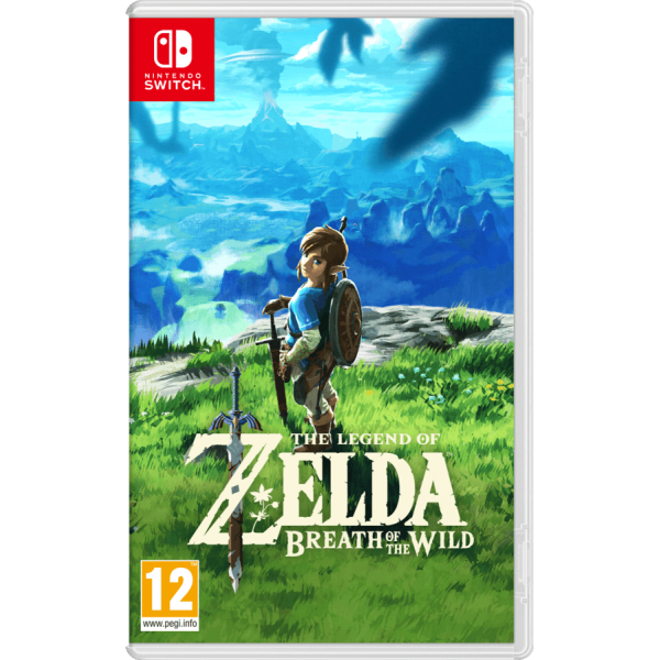 Juego Nintendo Switch Zelda Breaht of the Wild