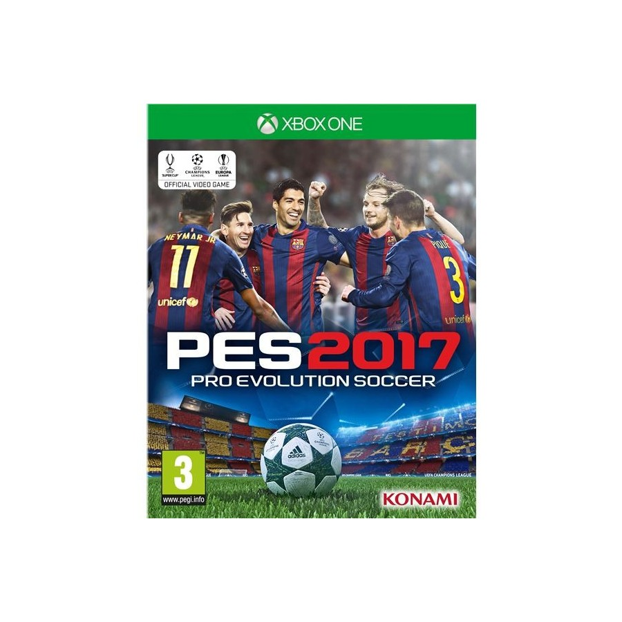 JUEGO XBOX ONE PES 2017 PRO EVOLUTION SOCCER