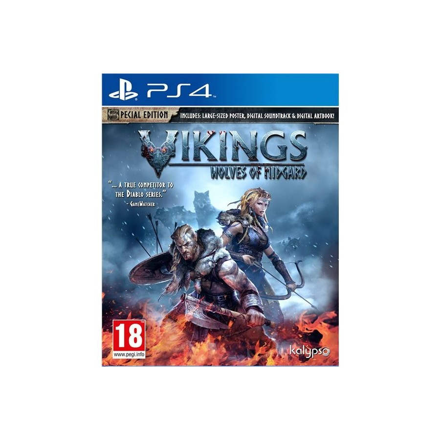 JUEGO PS4 VIKINGS WOLVES OF MIDGARD