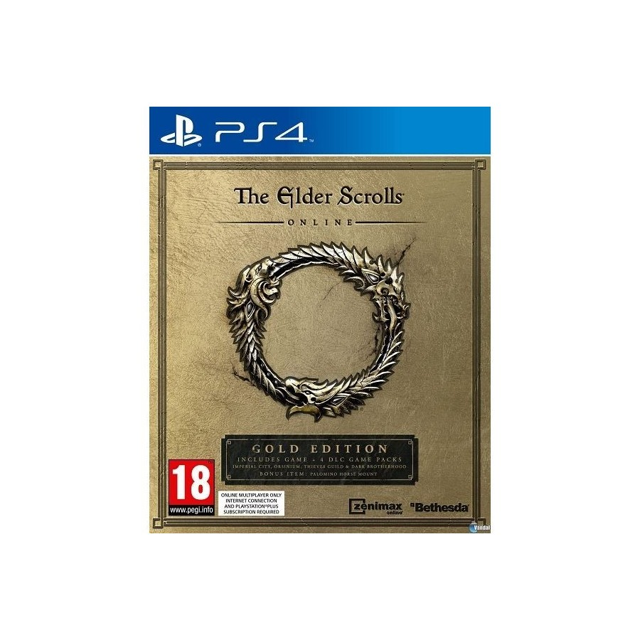 JUEGO PS4 THE ELDER SCROLLS ONLINE: GOLD EDITION