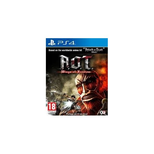 Juego Ps4 Aot: Wings Of Freedom