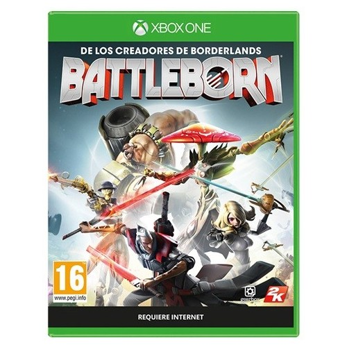 Juego Xbox One Battleborn Pack Primogenito