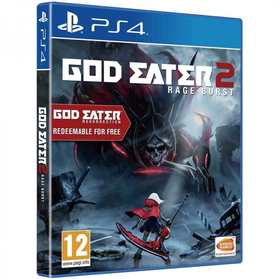 JUEGO PS4 GOD EATER 2 RAGE BURST