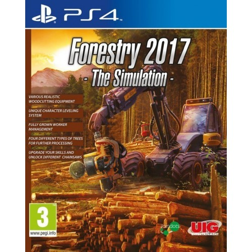 Juego PS4 Forestry 2017 The Simulation