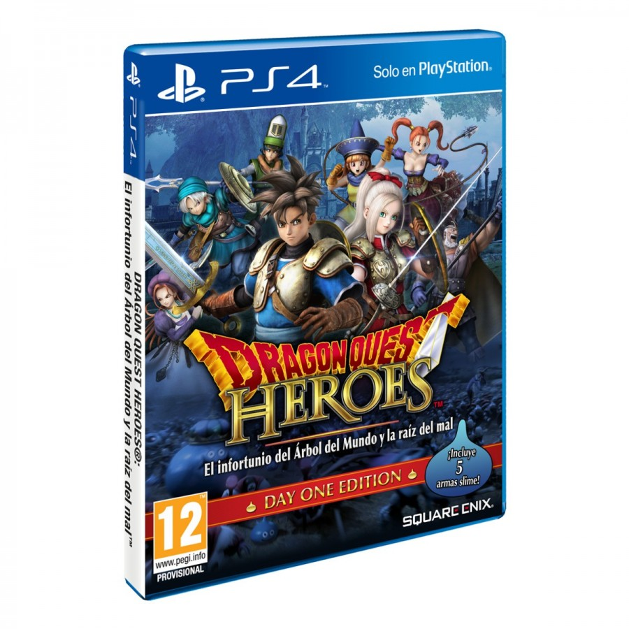 JUEGO DRAGON BALL QUEST HEROES PS4