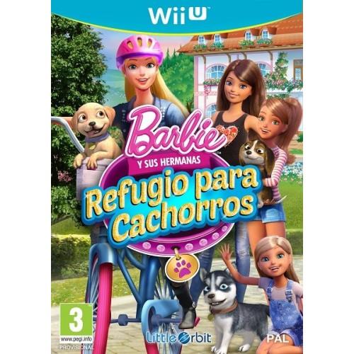 Juego Wii U Barbie y sus Hermanas: Refugio para cachorros