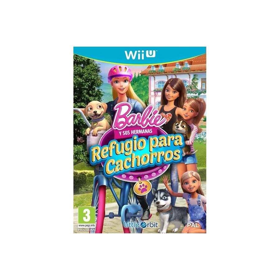 Juego Wii U Barbie y sus Hermanas: Refugio