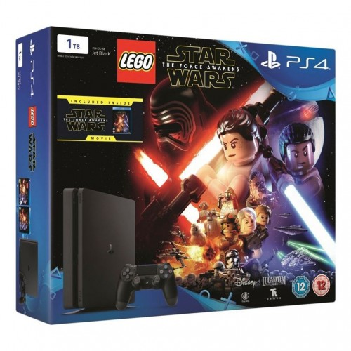 Consola Ps4 1TB + Lego Star Wars