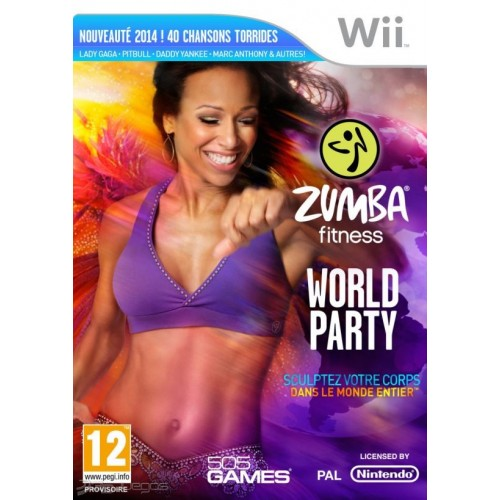JUEGO ZUMBA FITNESS WORLD PARTY WII
