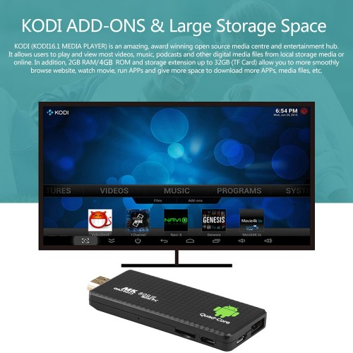 Android TV MINI PC MK 809III 4GB y 2GB RAM