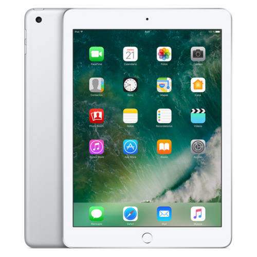 "Apple iPad 2017 MP2G2TY/A, 9.7"" 32GB 8Mp WiFi Silver"