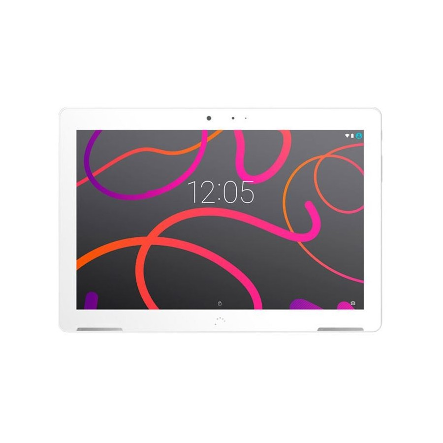 "Tablet BQ Aquaris M10 , 10.1"", 16 GB de Almacenamiento, 2GB de RAM, Cámara 8MPx, Full HD y color Blanco"