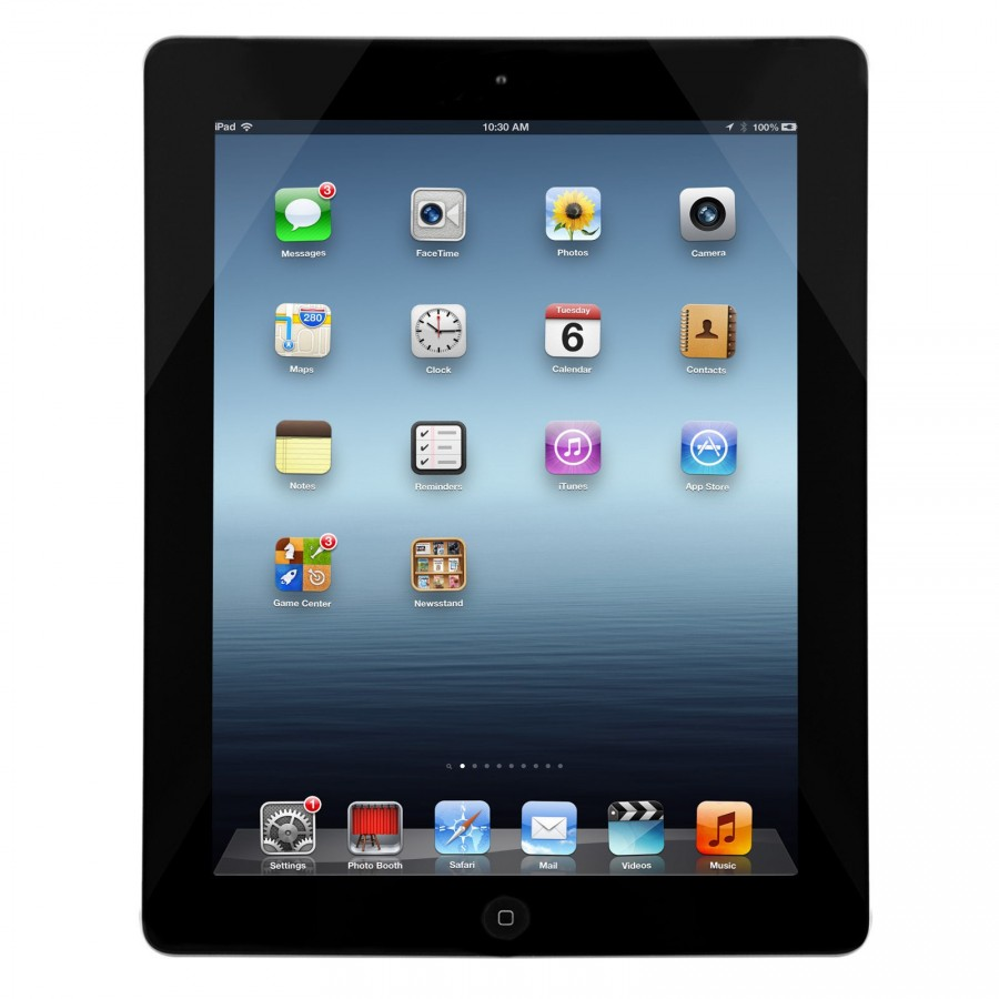 "iPad Apple 4, 9.7"", 32GB de Almacenamiento, WiFi y color Negro"