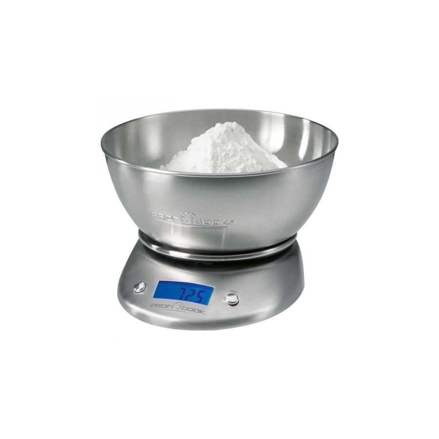 KW1040 PROFICOOK BALANZA DE COCINA INOX CON BOL