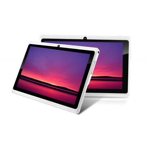 "Tablet KriTab 7"" SST-MID7014 8GB con 512MB RAM de color blanca"