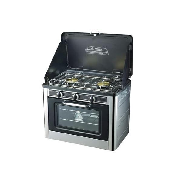 Horno de gas + Cocina 2 Fuegos AIRMEC AM120485
