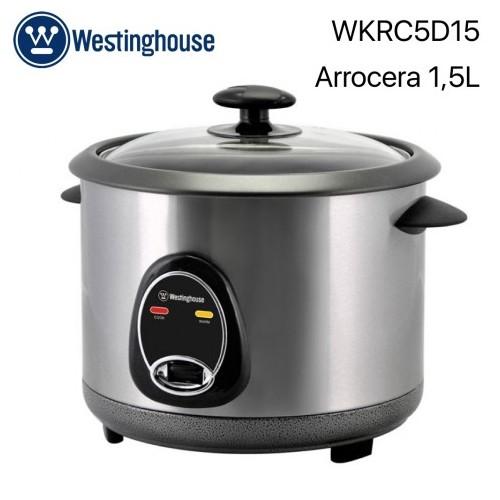 Arrocera Westinghouse WKRC5D15, Potencia de 500 W, Capacidad de 1.5 L