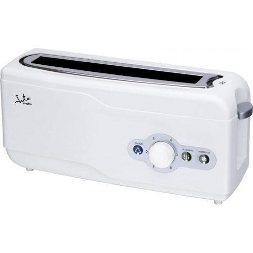 Tostadora Jata TT492, potencia de 750w, Ranura extra ancha y color Blanca