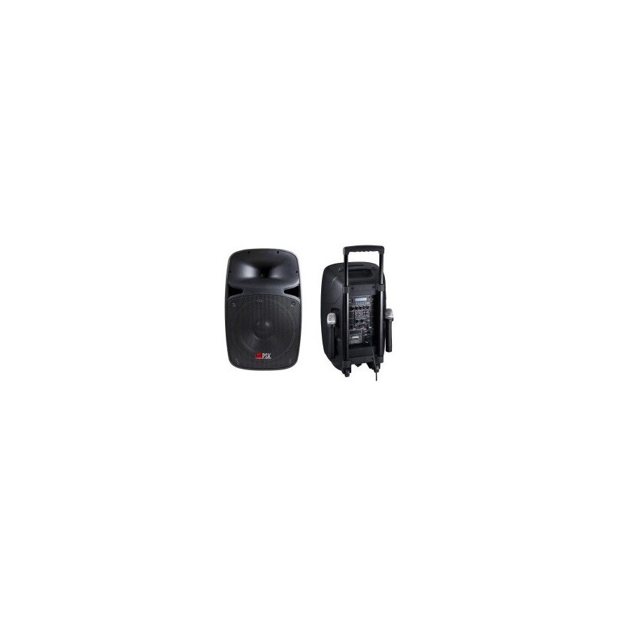 Altavoz Hamann PRO312 BTK 800W BlueTooth, USB, SD, Micrófono Incluido