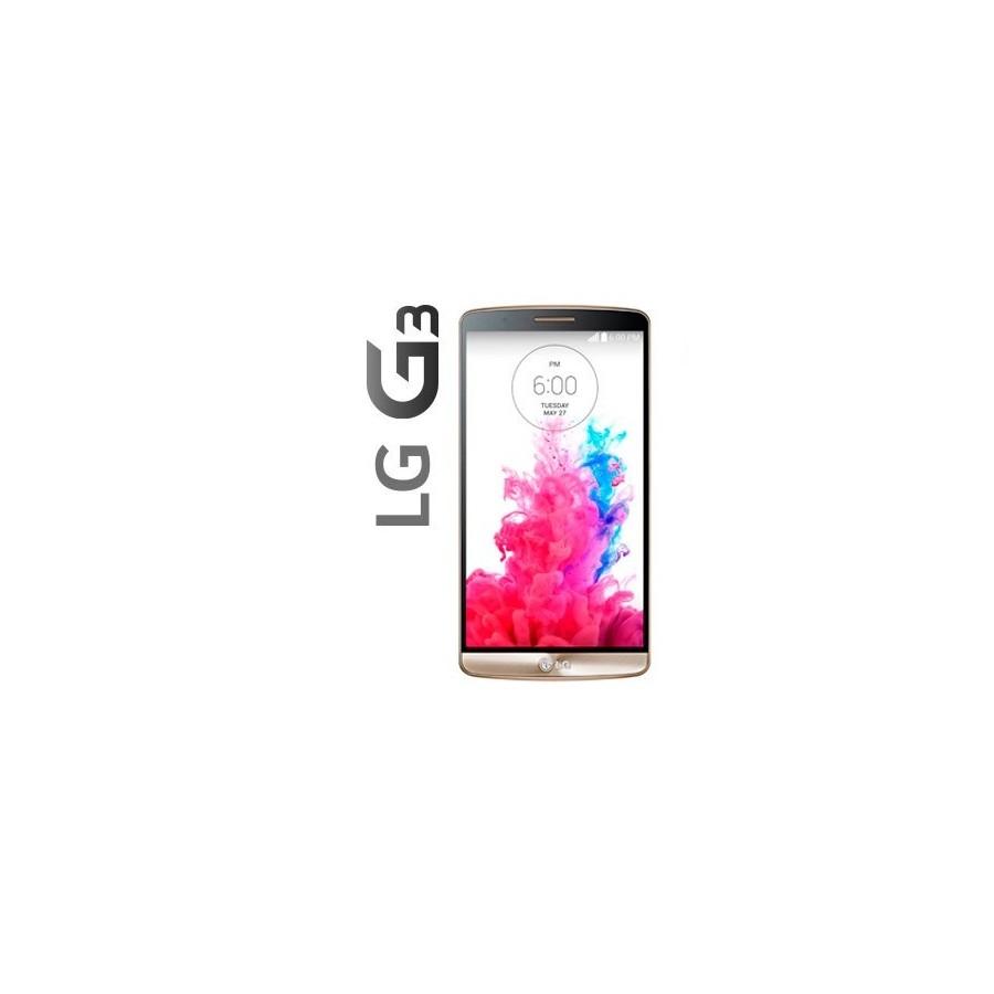 """Móvil Lg G3 D855, 5.5"""", 16GB de alamcenamiento, cámara de 13Mpx, HD y color Negro Oro"""