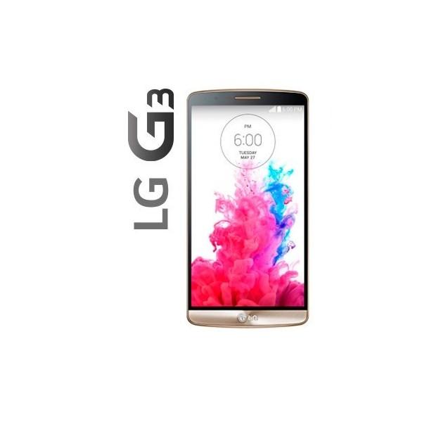 """Móvil Lg G3 D855, 5.5"""", 2GB de RAM, 16GB de alamcenamiento, cámara de 13Mpx, Quad HD, NFC y color Negro - Oro"""