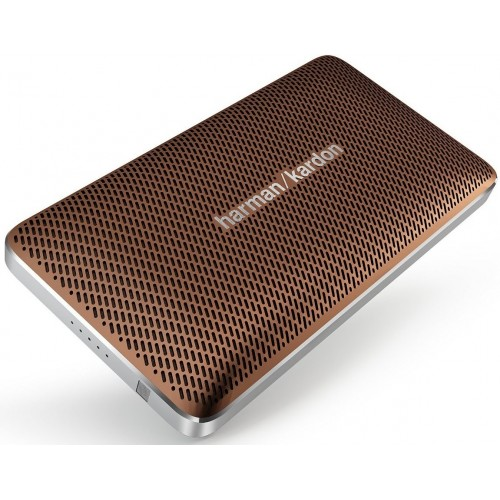 Altavoz Harman/Kardon Esquire Mini, manos libres, Bluetooth, USB y color Marrón